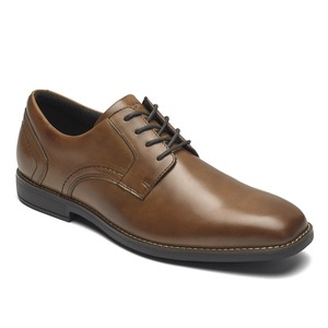 903 M SLAYTER PLAIN TOE COGNAC