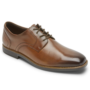 003 M SLAYTER PLAIN TOE NEW BROWN GLASS