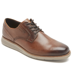 909 M TMSD 4-EYE PLAIN TOE COGNAC GRADIE