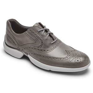 003 M TM ADVANCE WINGTIP STEEL GREY